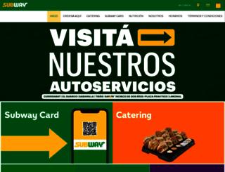 subwaycostarica.com screenshot
