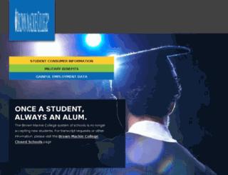 success.brownmackie.edu screenshot