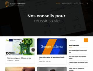 successandfailure.net screenshot