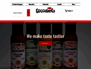 succulento.co.uk screenshot