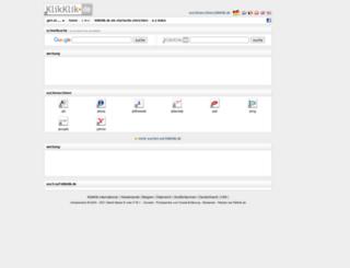 suchmaschinen.klikklik.de screenshot