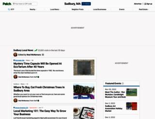 sudbury.patch.com screenshot