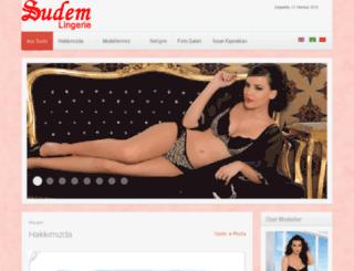 sudemicgiyim.com.tr screenshot