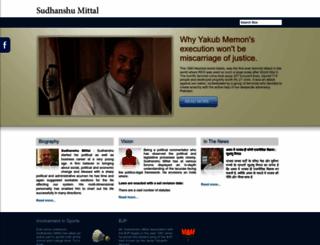 sudhanshumittal.com screenshot
