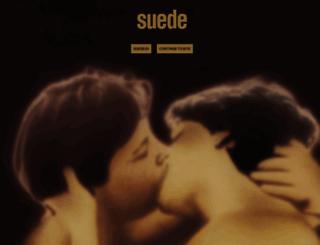 suede.co.uk screenshot