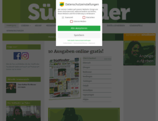 suedfinder.de screenshot
