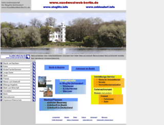 suedwestweb-berlin.de screenshot