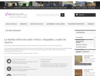 suelovinilicomoquetascaucho.com screenshot