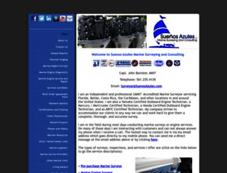 suenosazules.com screenshot
