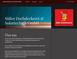 suesser-gmbh.de screenshot