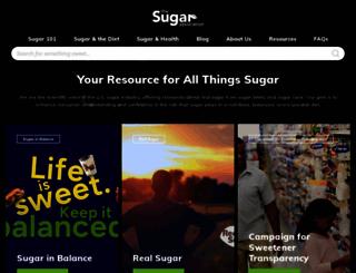 sugar.org screenshot