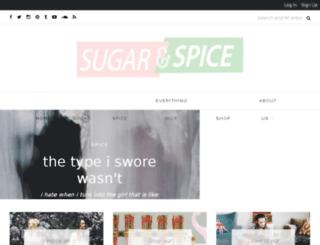 sugarandspiceofficial.com screenshot