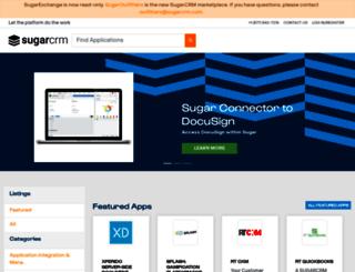sugarexchange.com screenshot