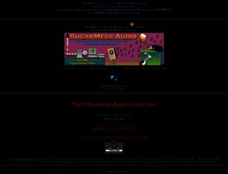 sugarmegs.org screenshot