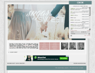 sugarsweet.jcink.net screenshot