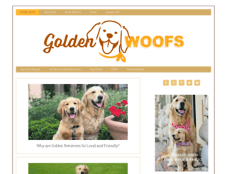 sugarthegoldenretriever.com screenshot