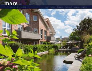 suiten-hotel-mare.de screenshot