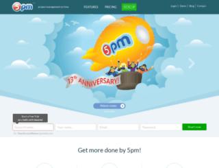 sukprojects.5pmweb.com screenshot