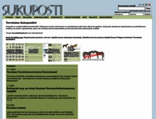 sukuposti.net screenshot
