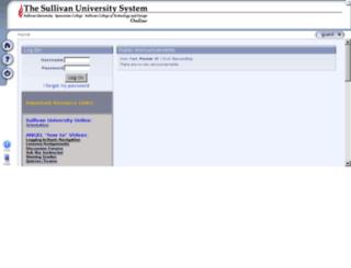 sullivan.angellearning.com screenshot