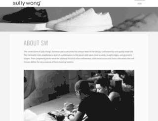 sullywong.com screenshot