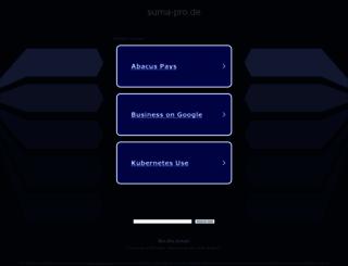 suma-pro.de screenshot