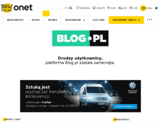 sumienie.blogujacy.pl screenshot