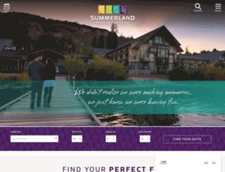 summerlandresorthotel.com screenshot