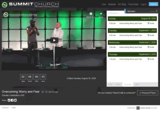 summit.churchonline.org screenshot