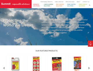 summitchemical.com screenshot