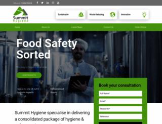 summithygiene.com screenshot