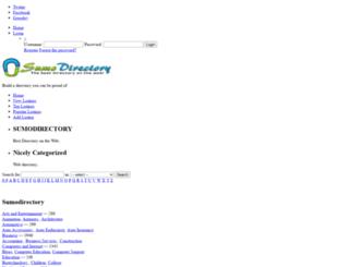 sumodirectory.com screenshot