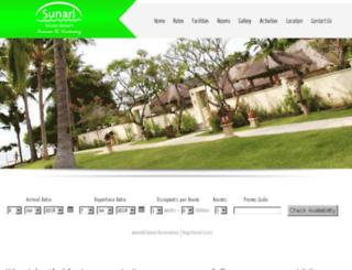 sunari.com screenshot