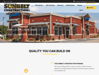 sunbeltconstructioninc.com screenshot