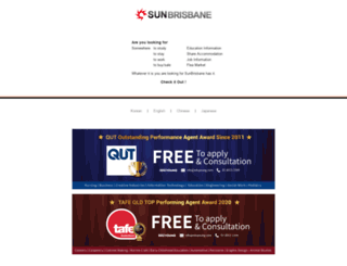 sunbrisbane.com screenshot