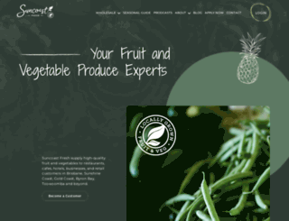 suncoastfresh.com.au screenshot