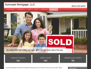 suncoastmortgages.com screenshot