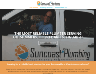 suncoastplumbingsc.com screenshot