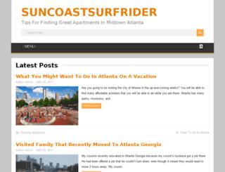 suncoastsurfrider.org screenshot