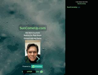 suncomeup.com screenshot