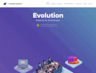 sundaraminfotech.com screenshot