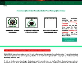 sundarbans.net screenshot