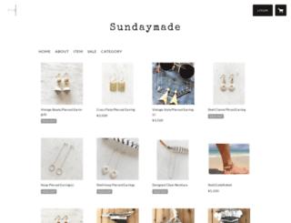 sundaymade.stores.jp screenshot