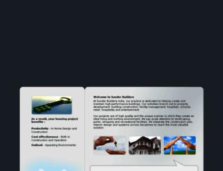 sunderbuilders.com screenshot