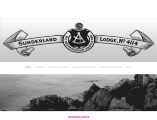 sunderlandlodge4114.weebly.com screenshot