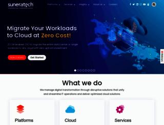 suneratech.com screenshot