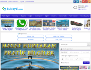 suneydi.com screenshot