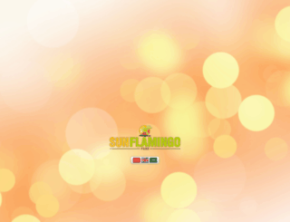 sunflamingo.com screenshot