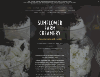 sunflowerfarm.info screenshot