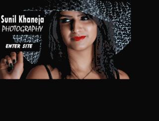 sunilkhanejaphotography.com screenshot